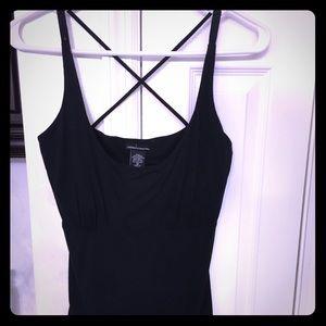 EXCELLENT Victoria's Secret black Bra top shirt M
